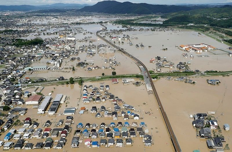 Japan Floods: 200 killed, over 120 missing; the disaster captured in pictures