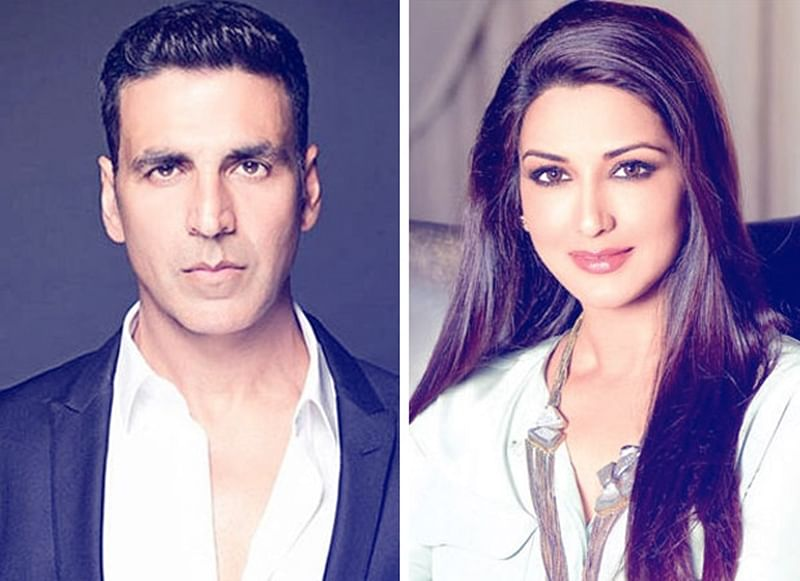 Akshay Kumar meets Sonali Bendre in New York on knowing of her cancer battle