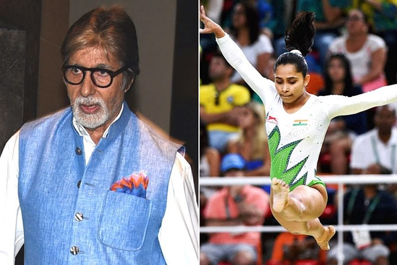 We are proud Indians because of you: Amitabh Bachchan to Dipa Karmakar