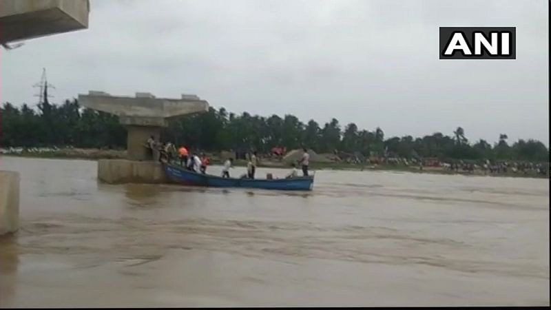 Andhra Pradesh: Boat carrying 40 people capsizes in East Godavari; rescue operations underway