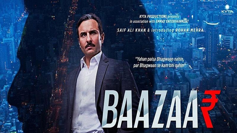 'Baazaar' Movie Review: Saif Ali Khan's market trading drama is not thrilling enough