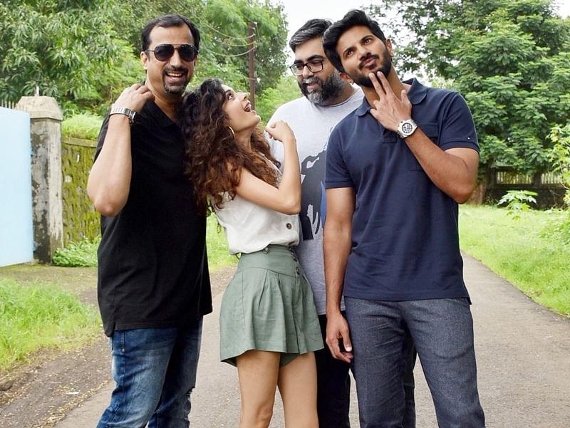Dulquer Salmaan and Mithila Palkar recreate Karwaan road trip