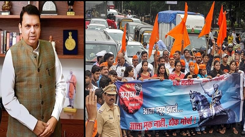 Amidst Mumbai Bandh over Maratha reservation stir, you won't believe what Maharashtra CM Fadnavis tweeted