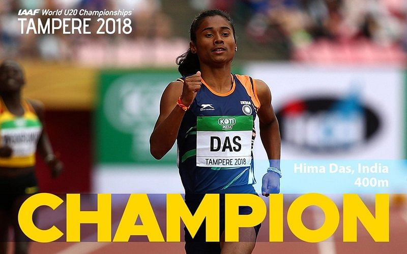 Hima Das: Things you need to know about India's first ever track, field gold medallist at IAAF