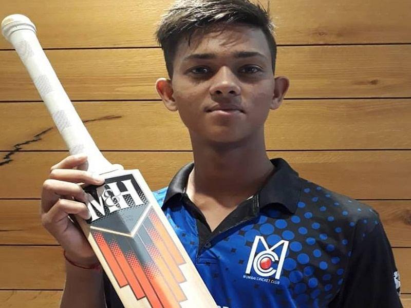 Under-19 newcomer Yashasvi Jaiswal meets Sachin Tendulkar on special invitation