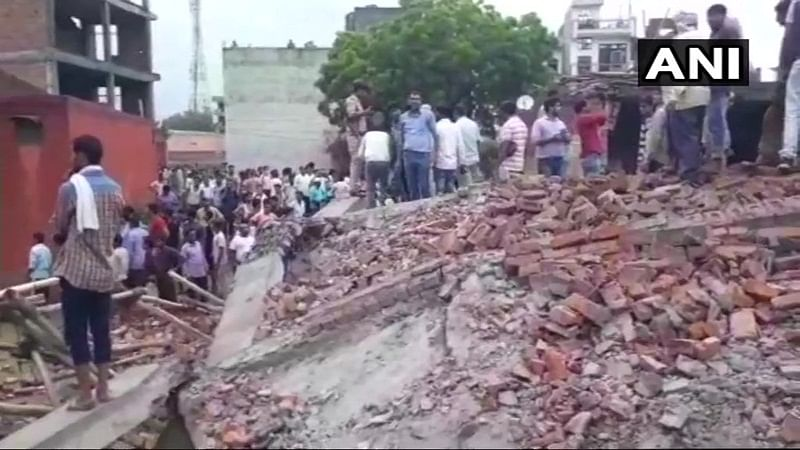 Ghaziabad building collapse: 1 more body recovered, rescue operations underway