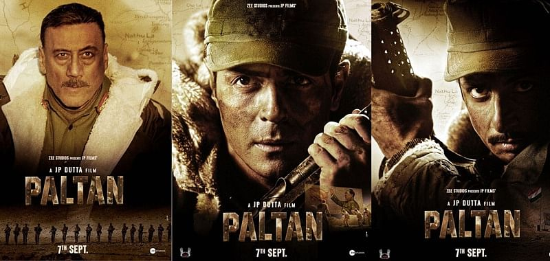 First posters of 'Paltan' unveils the Army squad