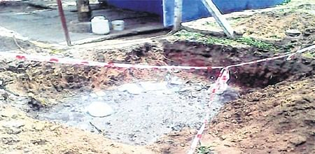 Bhopal: Dug-up roads, open trench to pose risk to commuters