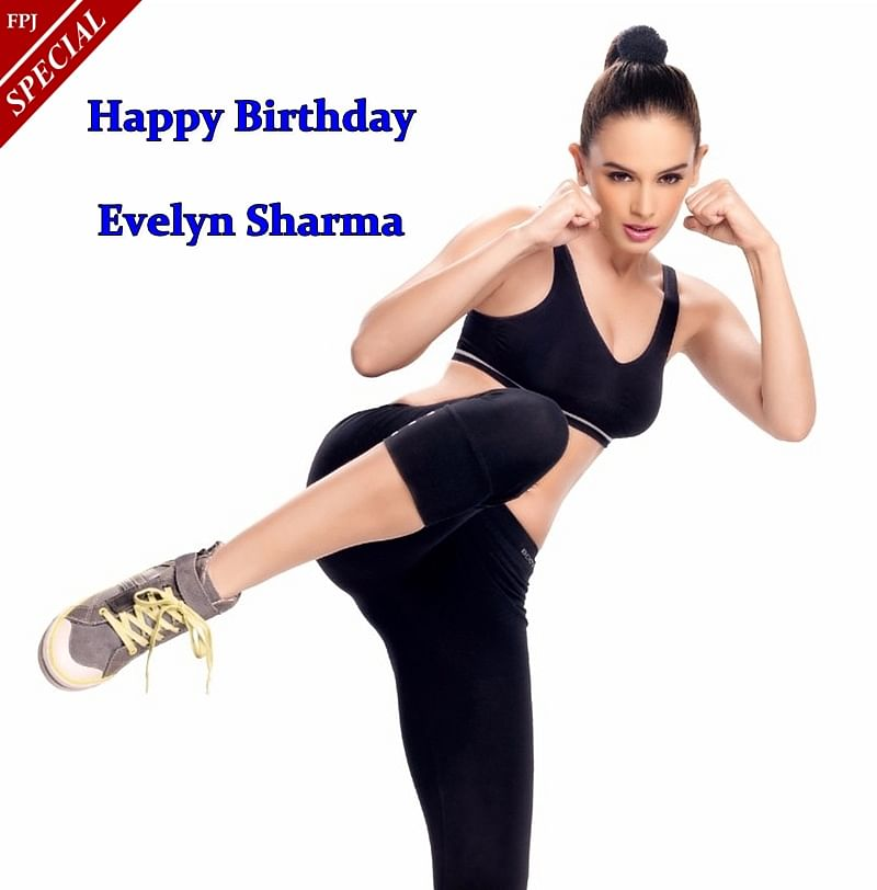 Evelyn Sharma Birthday Special: Check out hot and sexy workout pictures of 'Saaho' actress