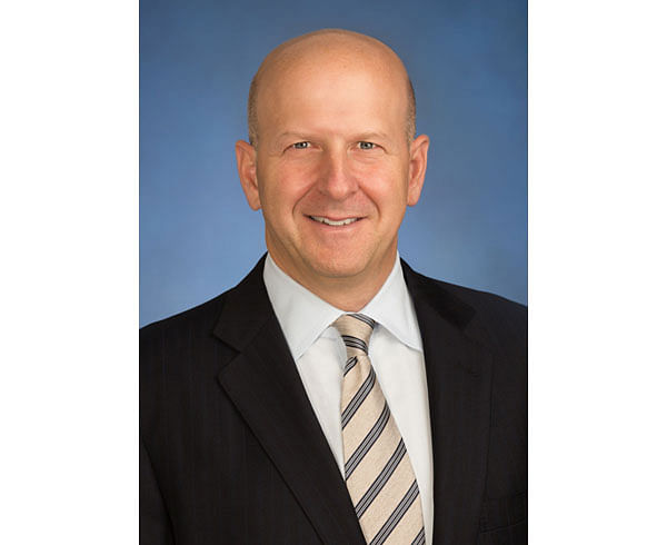 """(FILES) In this file photo obtained on March 13, 2018 courtesy of Goldman Sachs shows David Solomon in New York. Goldman Sachs named David Solomon its new chief executive on July 17, 2018, implementing a much-telegraphed succession plan as it expands beyond its Wall Street roots to the broader consumer market.The prestigious investment bank said Solomon will assume the top executive job on October 1, succeeding longtime chief Lloyd Blankfein, who will remain as chairman through the end of the year. Solomon will then succeed Blankfein as chairman.  / AFP PHOTO / Goldman Sachs / Mark MCQUEEN / RESTRICTED TO EDITORIAL USE - MANDATORY CREDIT """"AFP PHOTO / GOLDMAN SACHS/MARK MCQUEEN/HANDOUT"""" - NO MARKETING NO ADVERTISING CAMPAIGNS - DISTRIBUTED AS A SERVICE TO CLIENTS"""