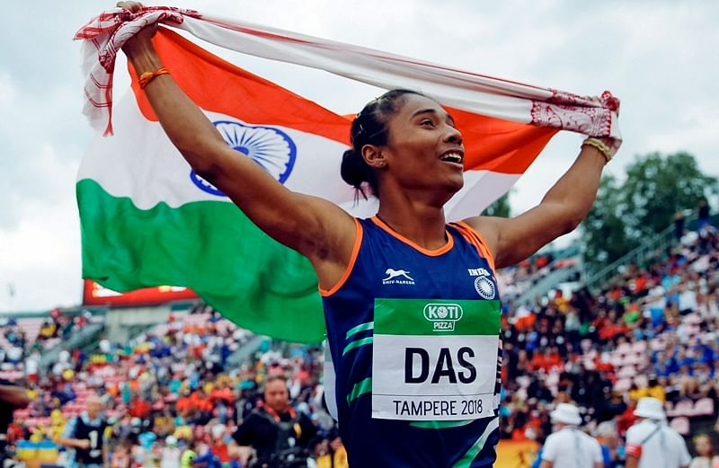 Asian Games 2018: From wanting to play football to becoming nation's pride in athletics; Here's Hima Das' incredible journey