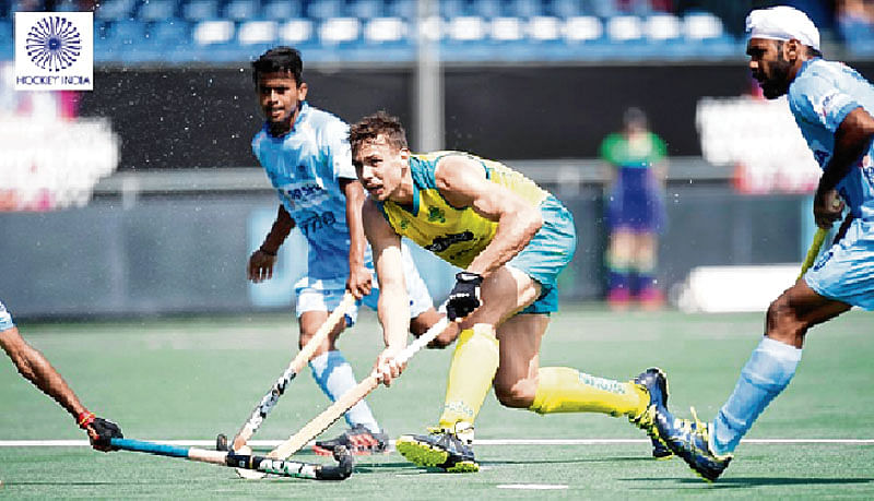 India go down fighting against Australia in final