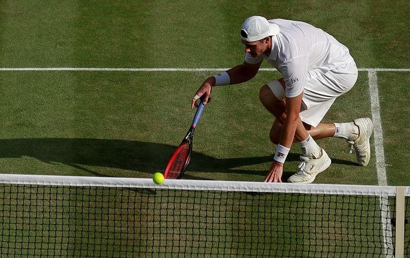 Wimbledon 2018 men's semi-final highlights: Anderson beats Isner in marathon, Nadal struggling against Djokovic