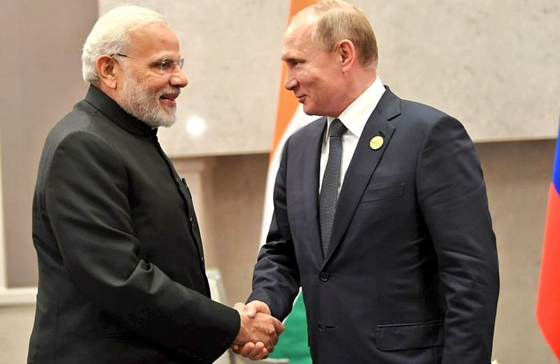 BRICS 2018: India-Russia discuss bilateral trade, defence