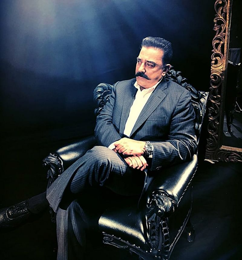 WOW! This stylish photo shoot of Kamal Haasan has got some Twitteratis calling him Godfather