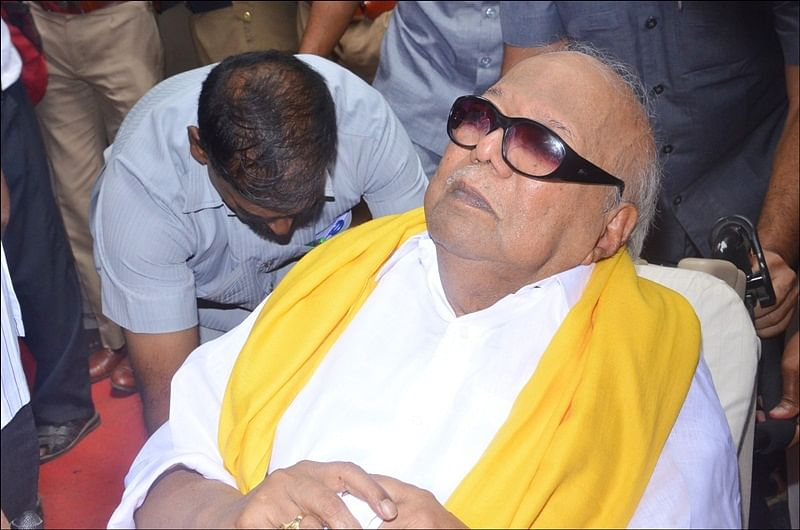 Karunanidhi Health Updates: After transient setback, DMK chief's vital signs are normalising, says Hospital