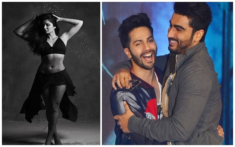 Hotness Alert! Katrina Kaif sizzles in latest black and white photoshoot; Varun and Arjun have this to say