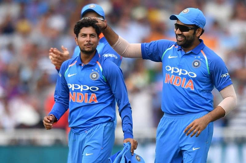 India vs England: Rohit ton, Kuldeep 5-wicket scalp help India edge over England in 1st ODI