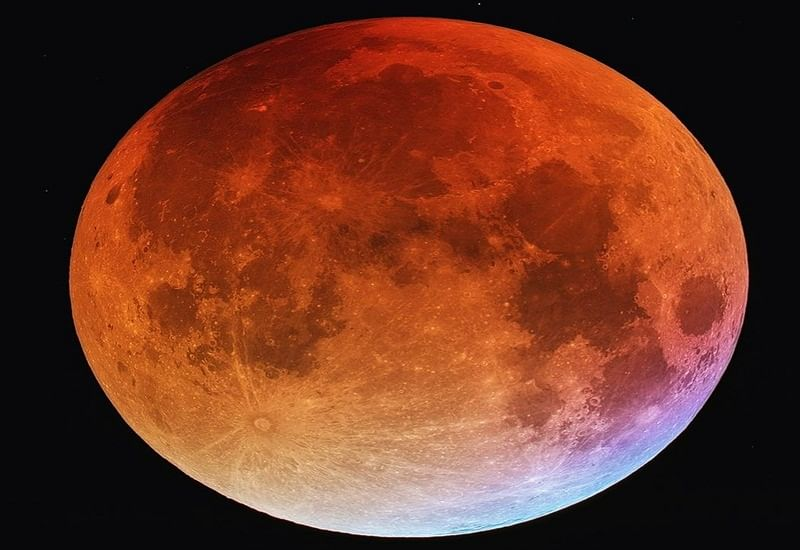 (In pictures) World witnesses longest-ever total lunar eclipse