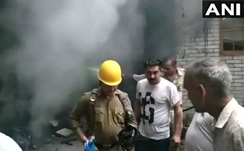 Himachal Pradesh: 5 dead, several feared trapped as fire breaks out in residential building in Mandi