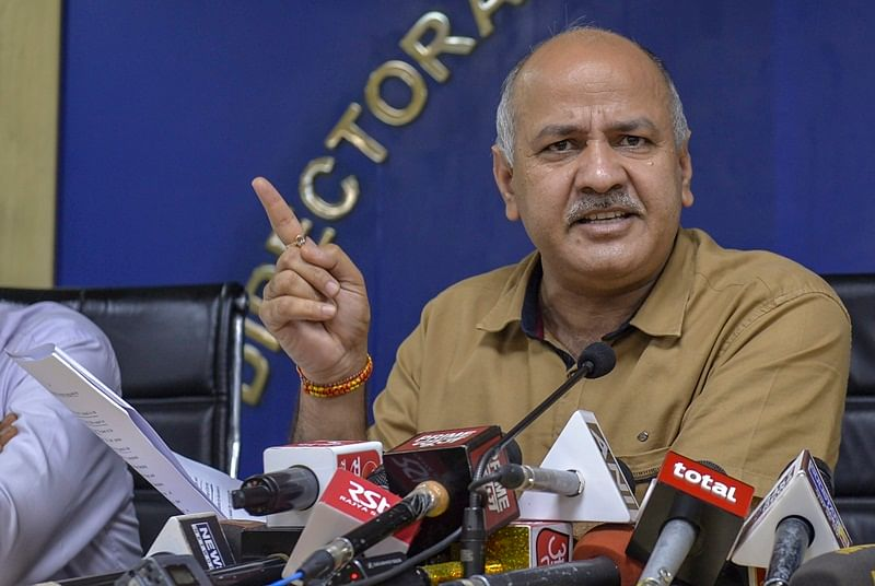 Delhi government has unearthed Rs 262 crore cyber-tax fraud: Manish Sisodia