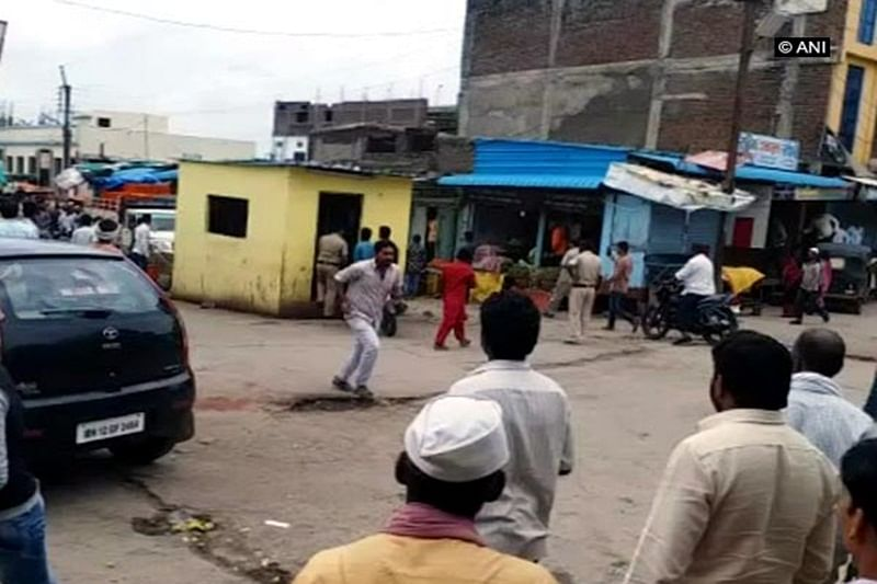 Maratha quota stir: Shops forcibly shut down as clashes break out between two groups in Latur