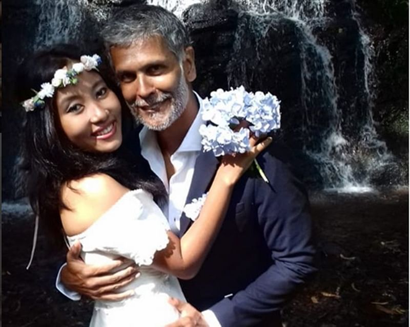Wonder couple Milind Soman and Ankita Konwar dare to bare; it's not what you think!