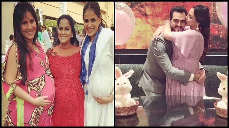 Mira Rajput to Aishwarya Rai Bachchan; When Bollywood mommies had a baby-shower