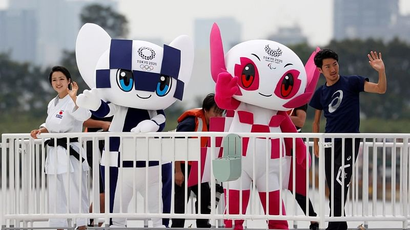'Miraitowa' and 'Someity': Japan reveals mascots for Tokyo 2020 Olympic and Paralympic Games