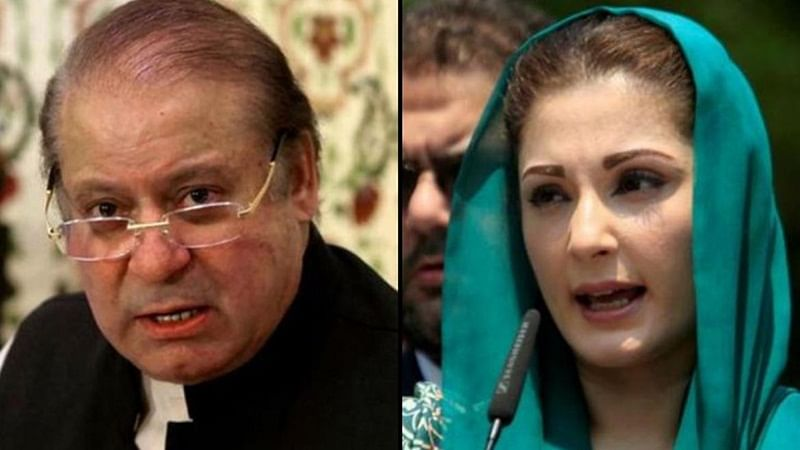 Nawaz Sharif, his daughter and son-in-law granted parole, reached Lahore to attend Begum Kulsoom's funeral