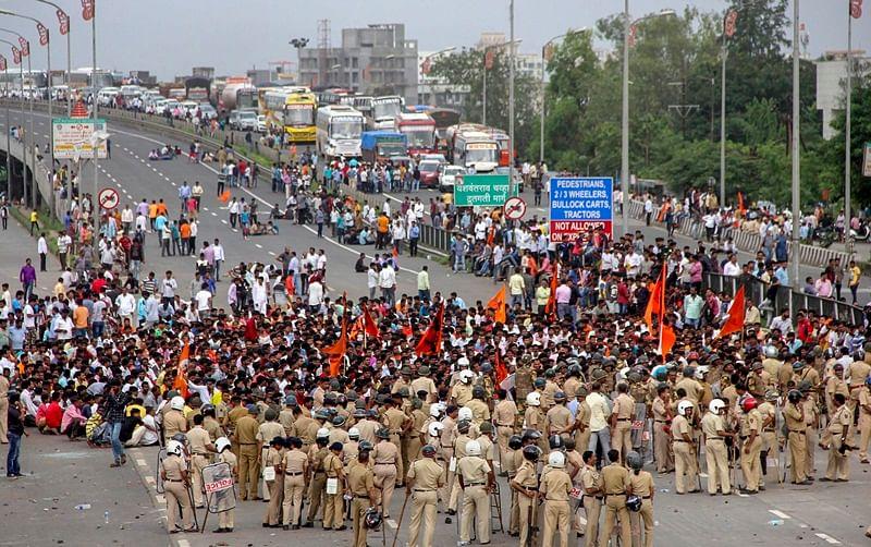 Maratha quota stir: Internet services suspended in Navi Mumbai