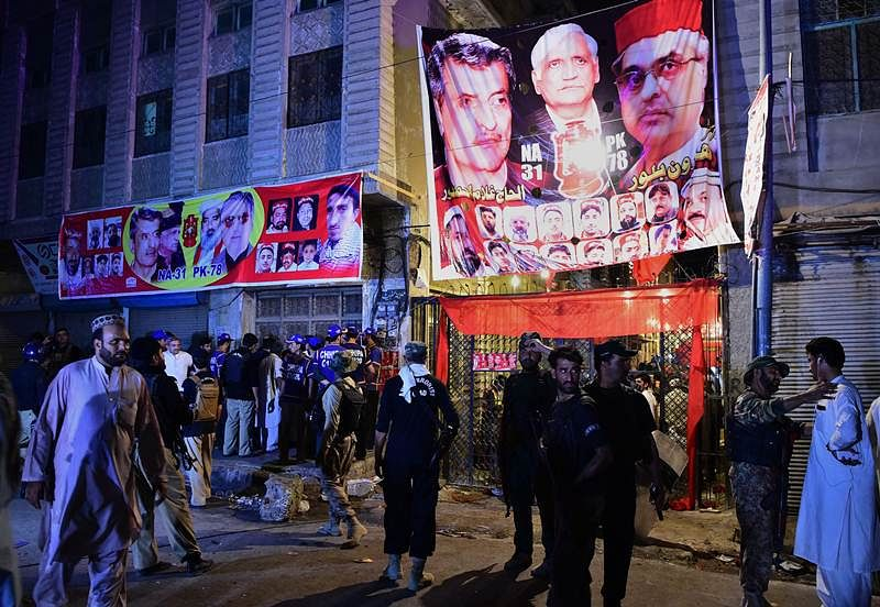 Pakistan blast: TTP claims responsibility for Peshawar election rally blast