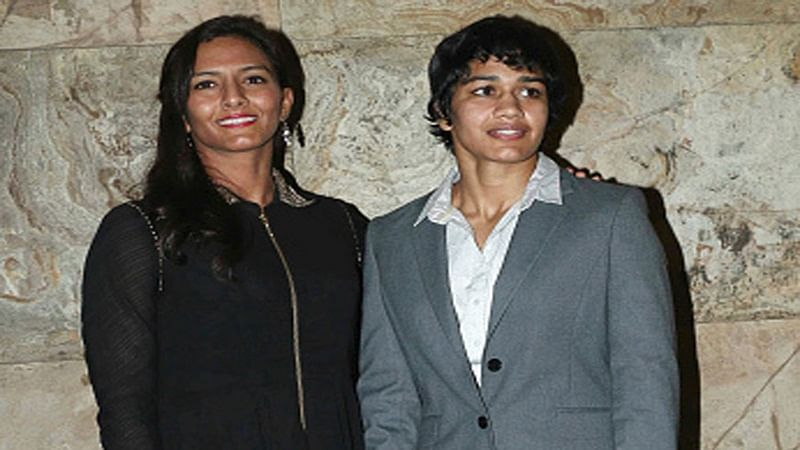 Wrestler sisters Geeta, Babita Phogat meet South Korean 1st lady Kim Jung-sook