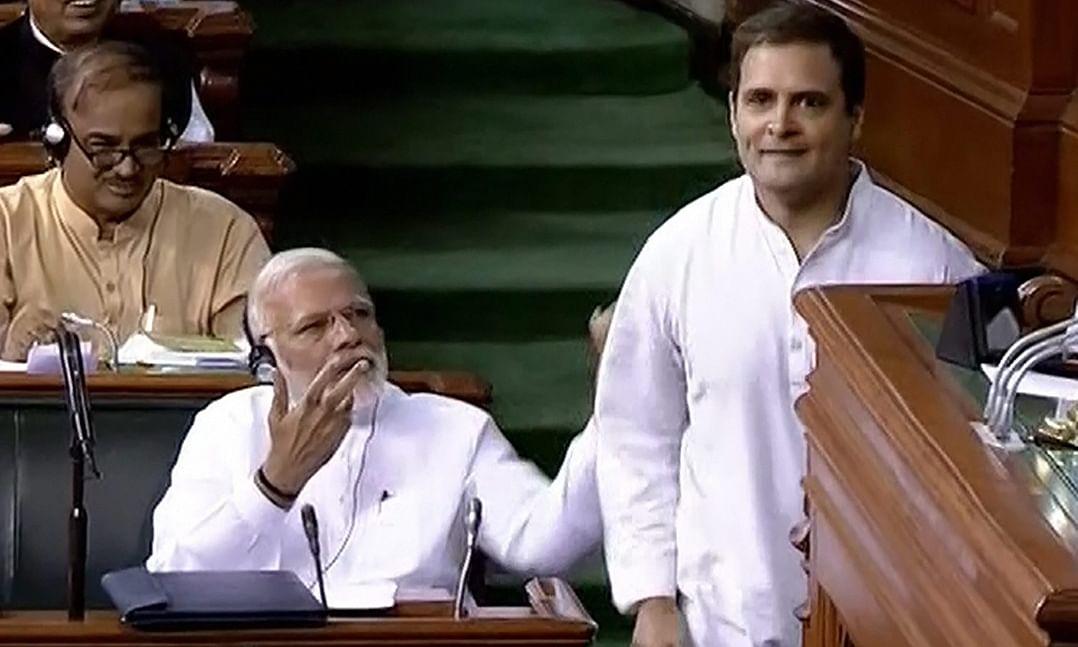 Scared of debating me on corruption: Rahul asks Modi
