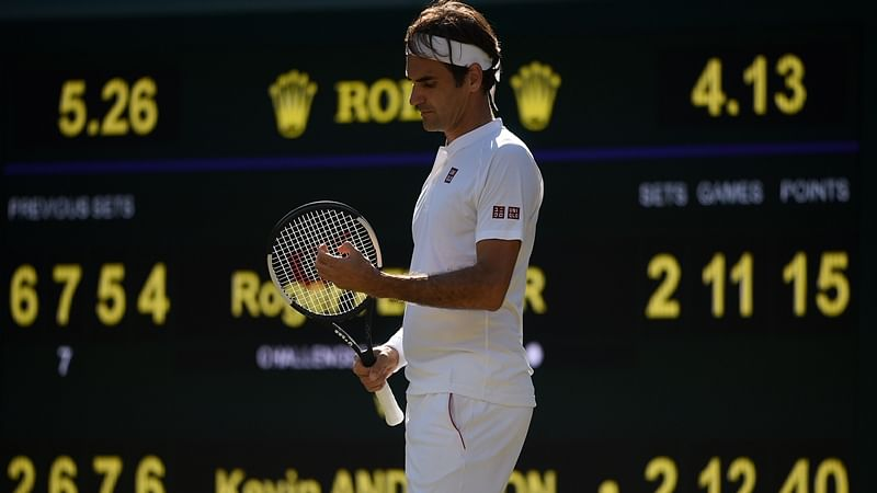 US Open: Roger Federer breezes into second round