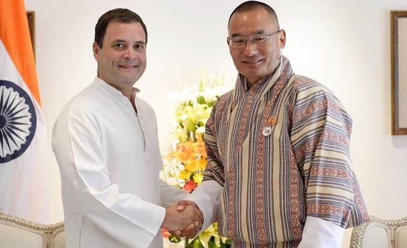 Rahul Gandhi meets Bhutan PM Tshering Tobgay, discussed way to strengthen 'special bond'