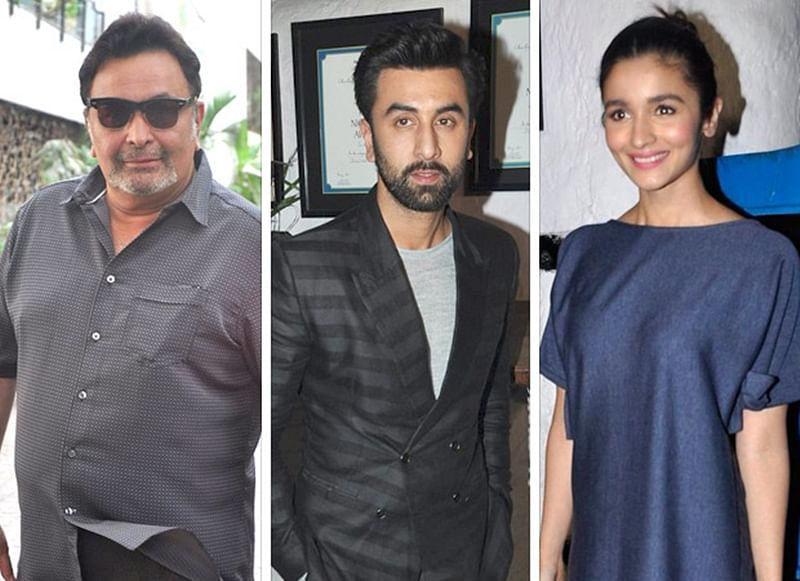 Rishi Kapoor allegedly got angry when Ranbir's ex Katrina called him 'Papa', but accepts Alia Bhatt as his 'bahu'