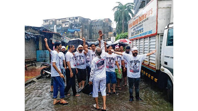 Mumbai: Sion-Koliwada Punjabi colony refugees protest HC eviction order
