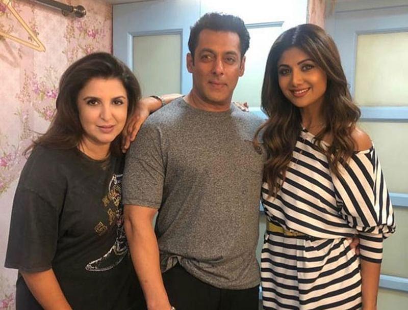 Salman Khan-Shilpa Shetty Kundra recreate the 90s on Dus Ka Dum sets; see pic