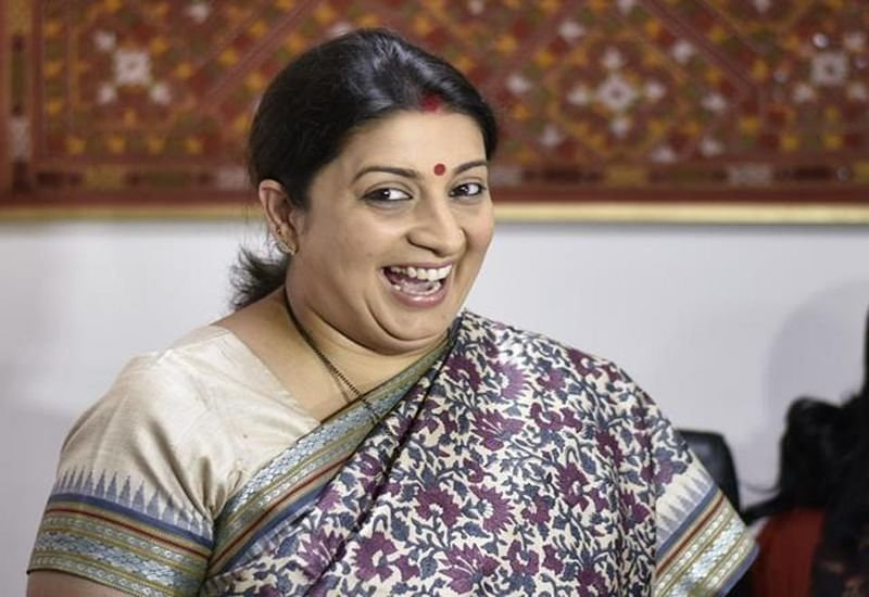 Smriti Irani takes hilarious dig at her husband Zubin Irani and Shah Rukh Khan; check out her post