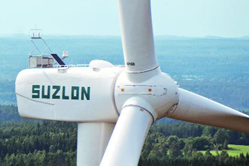 Suzlon posts Rs 575-cr Q1 loss on weak sales