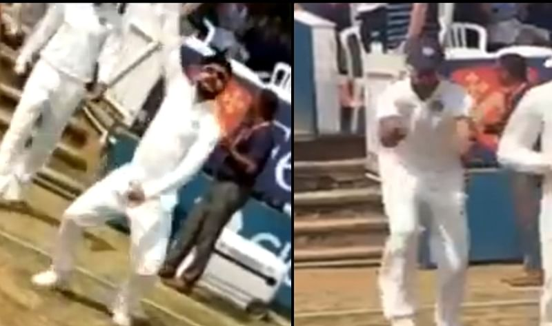 India vs Essex! Kohli, Dhawan display swift footwork as they do 'bhangra' on the field; Watch Video