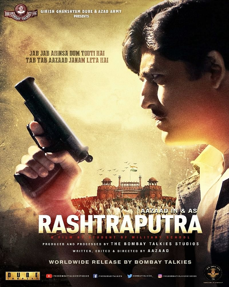 'Rashtraputra' based on Chandrashekhar Azad's life is set to release on September 14