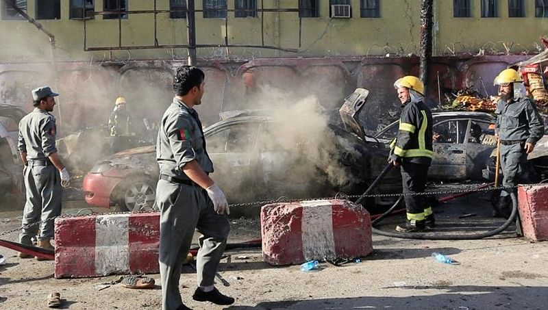 At least 25 killed in Kabul suicide attack: officials
