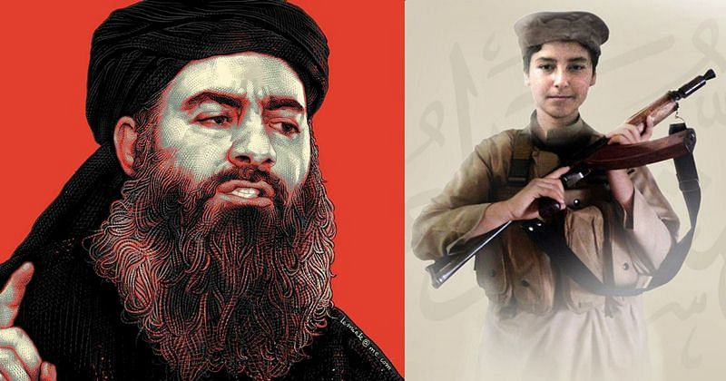 IS releases picture of Baghdadi's slain son brandishing rifle