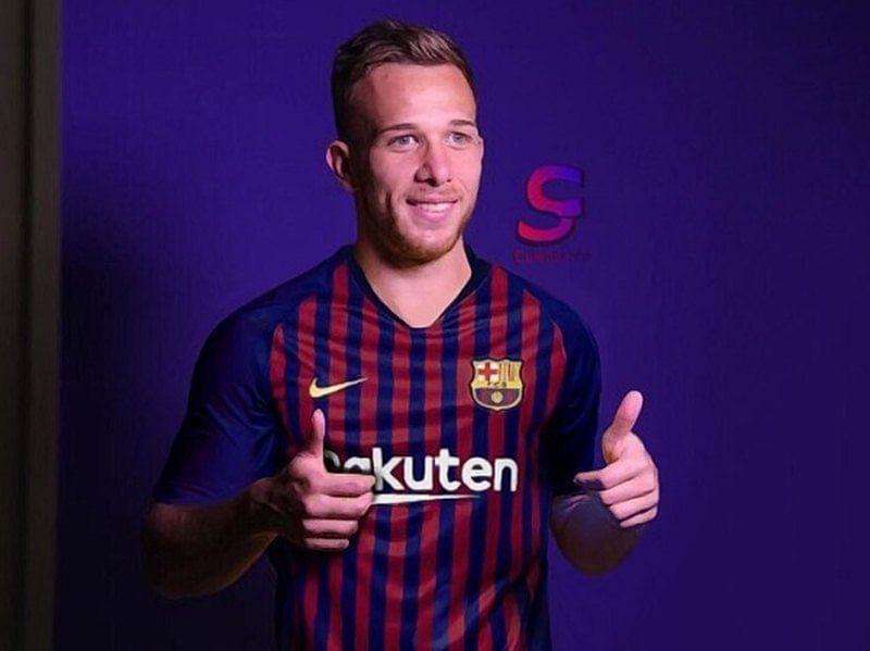 Brazilian Midfilder Arthur Melo thrilled to join FC Barcelona
