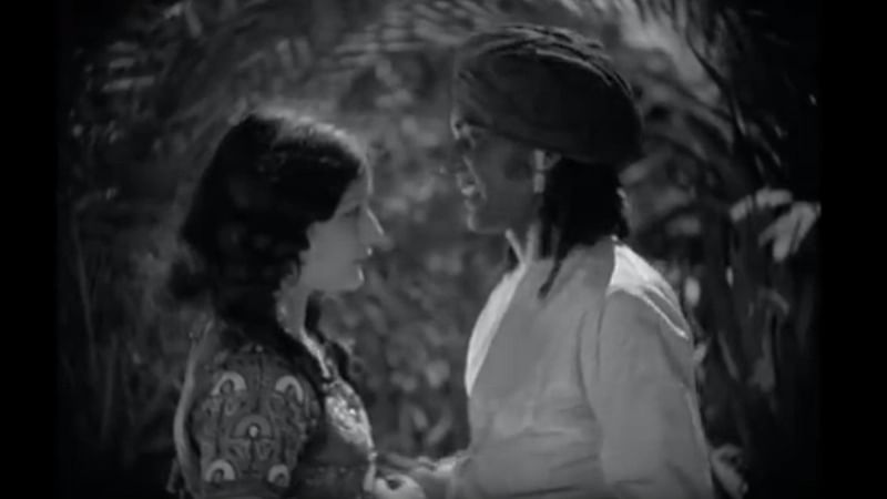 Watch: Bollywood's first ever kissing scene was filmed in 1929