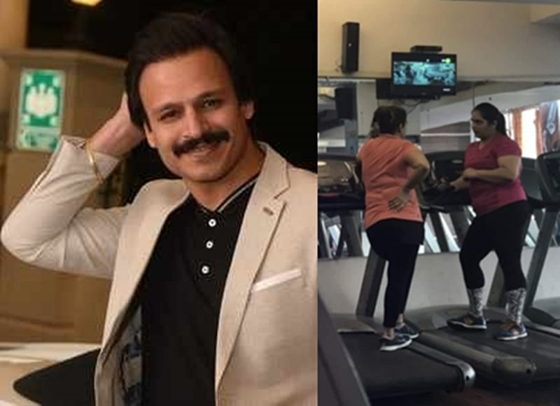 Vivek Oberoi pokes fun at his buddies 'gossiping' in gym; See Twitter pic