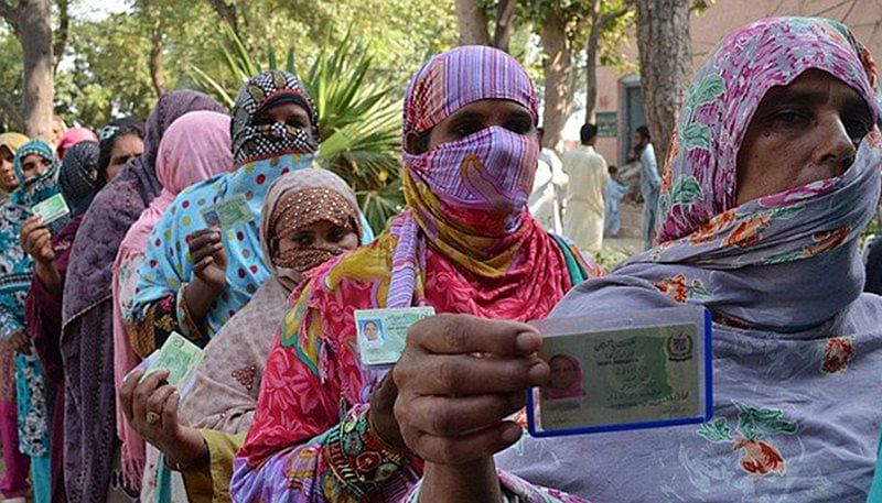 Pakistan general elections: Women in Pakistani village vote for first time in 70 years