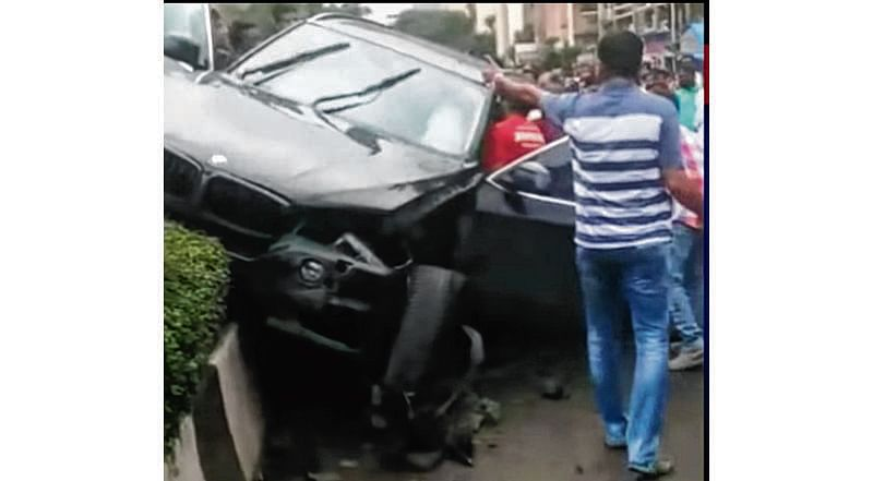 TV actor Siddharth rams into three cars, arrested